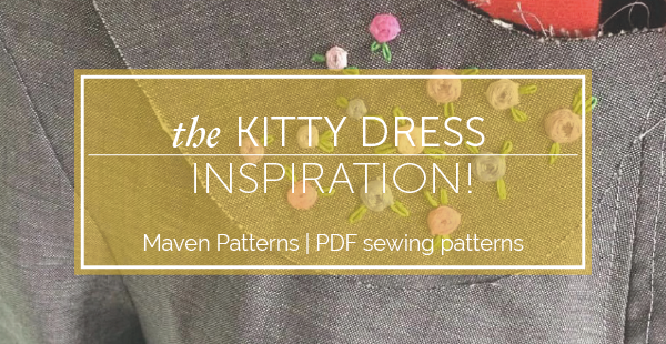 inspiration | the kitty dress