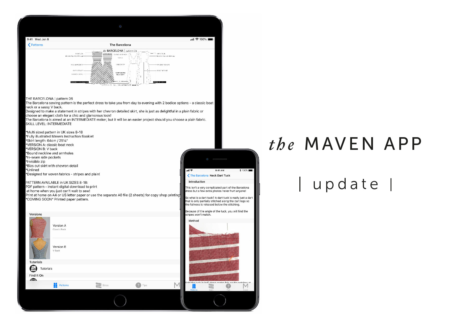 The Maven App - update! - Maven Patterns