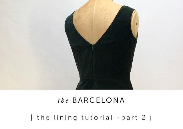 dress lining tutorial Archives Maven